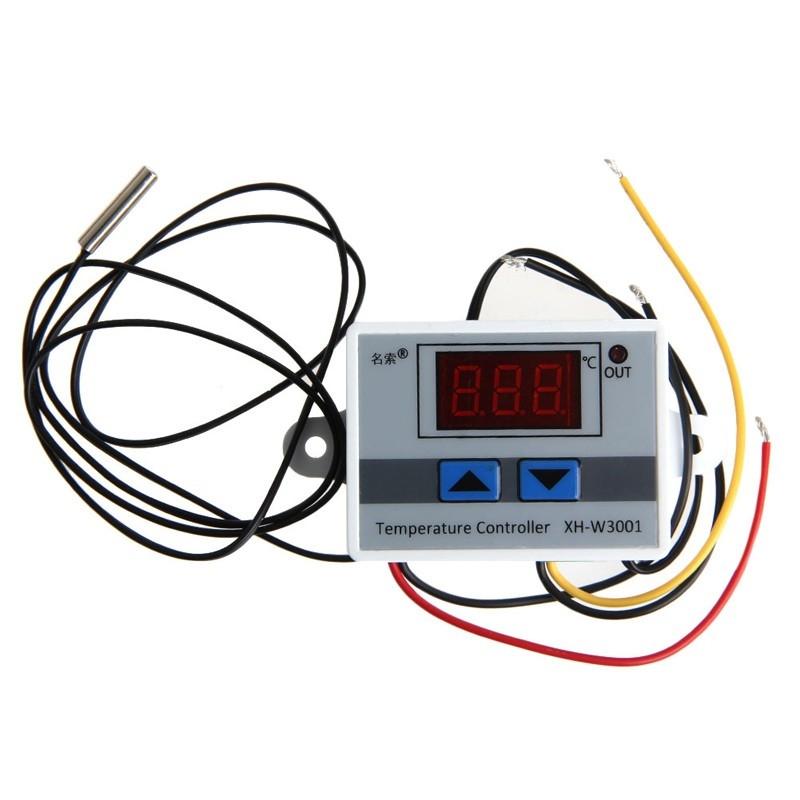 contr leur r gulateur temp rature 220v thermostat digital 50 110 c sonde maroc. Black Bedroom Furniture Sets. Home Design Ideas