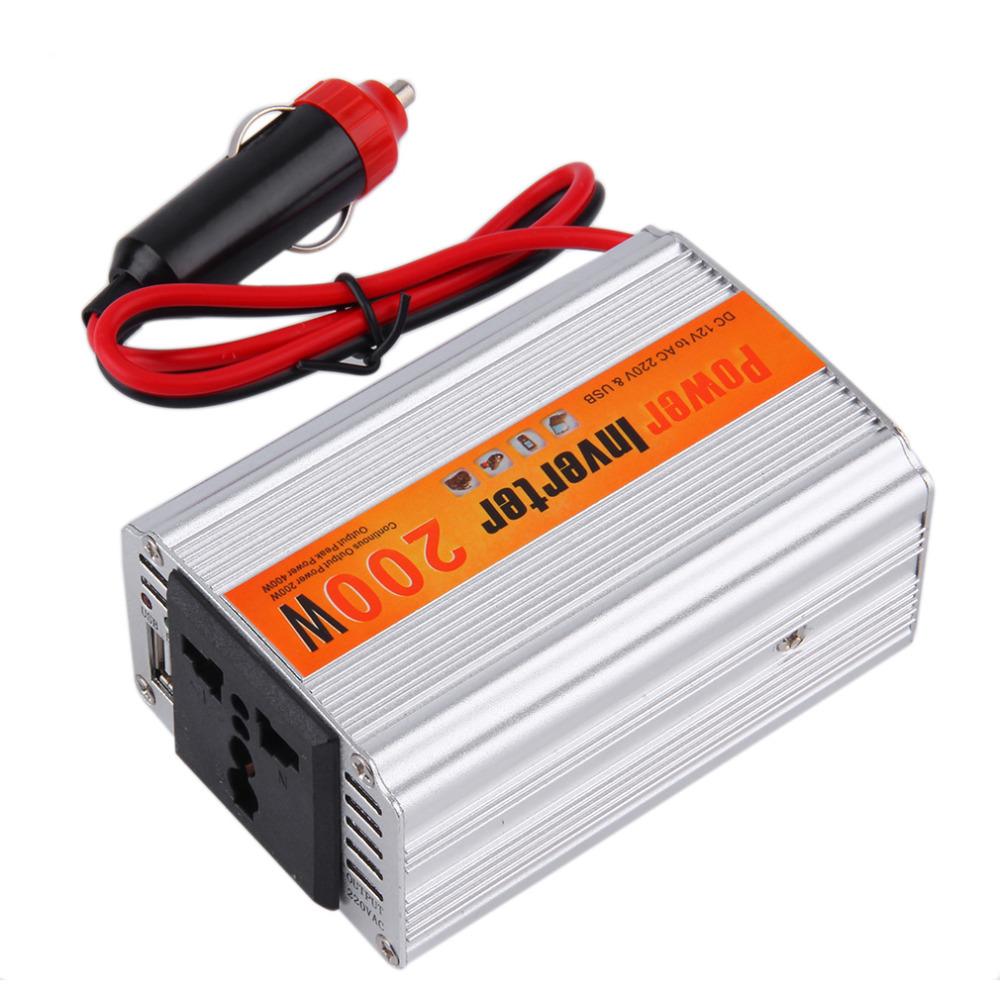 Convertisseur transformateur de tension 12v 220v 230v - Transformateur 12v 220v allume cigare ...