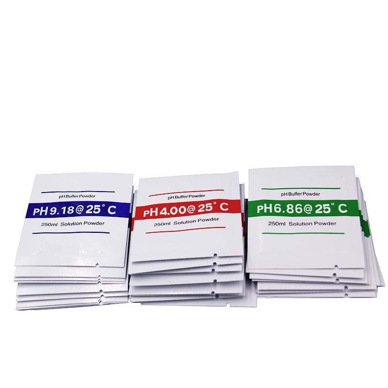 Pack 3 Piece Poudre Solution Tampon étalonnage Ph 400 686 Et 918 Maroc