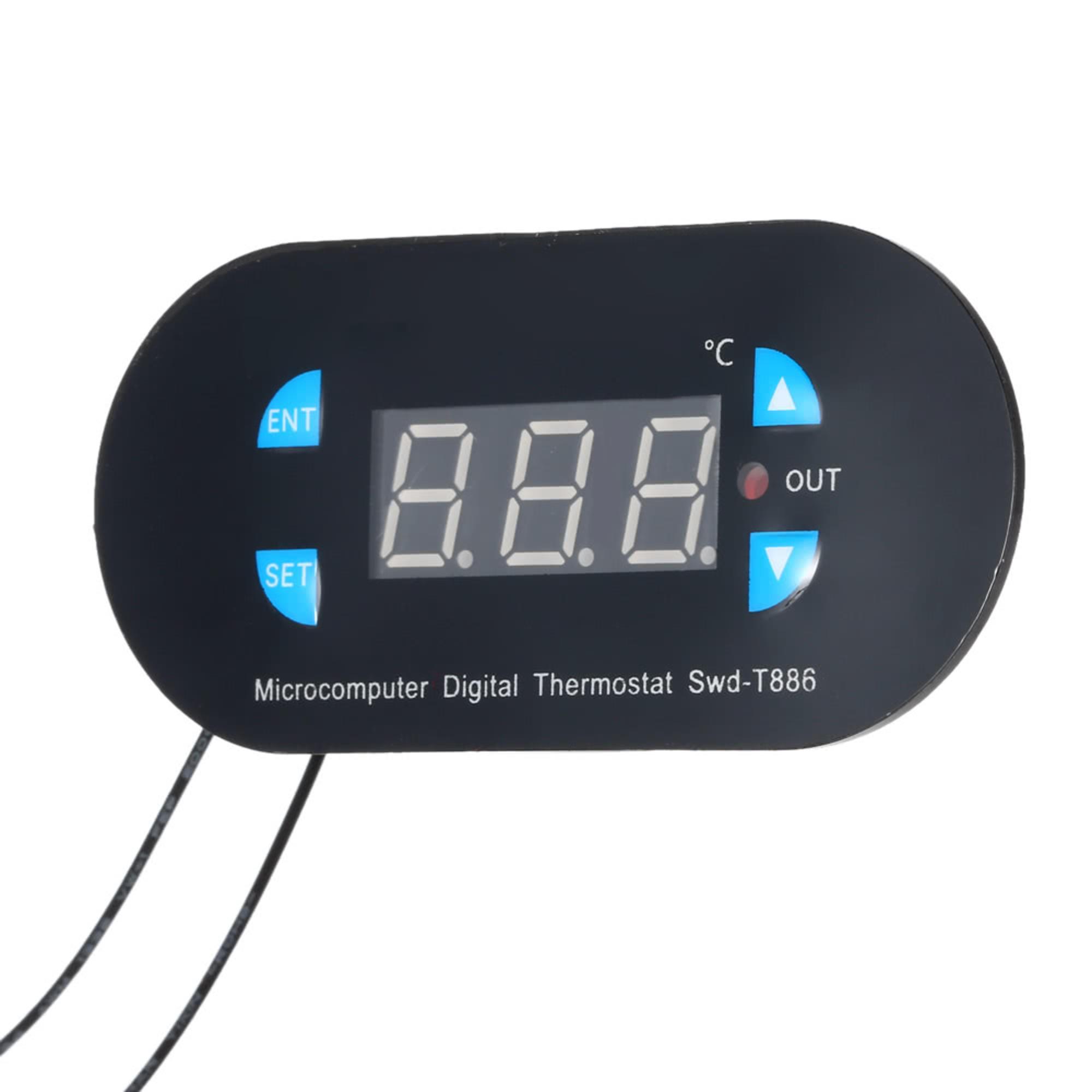 swd t886 mini thermostat r gulateur de temp rature maroc. Black Bedroom Furniture Sets. Home Design Ideas