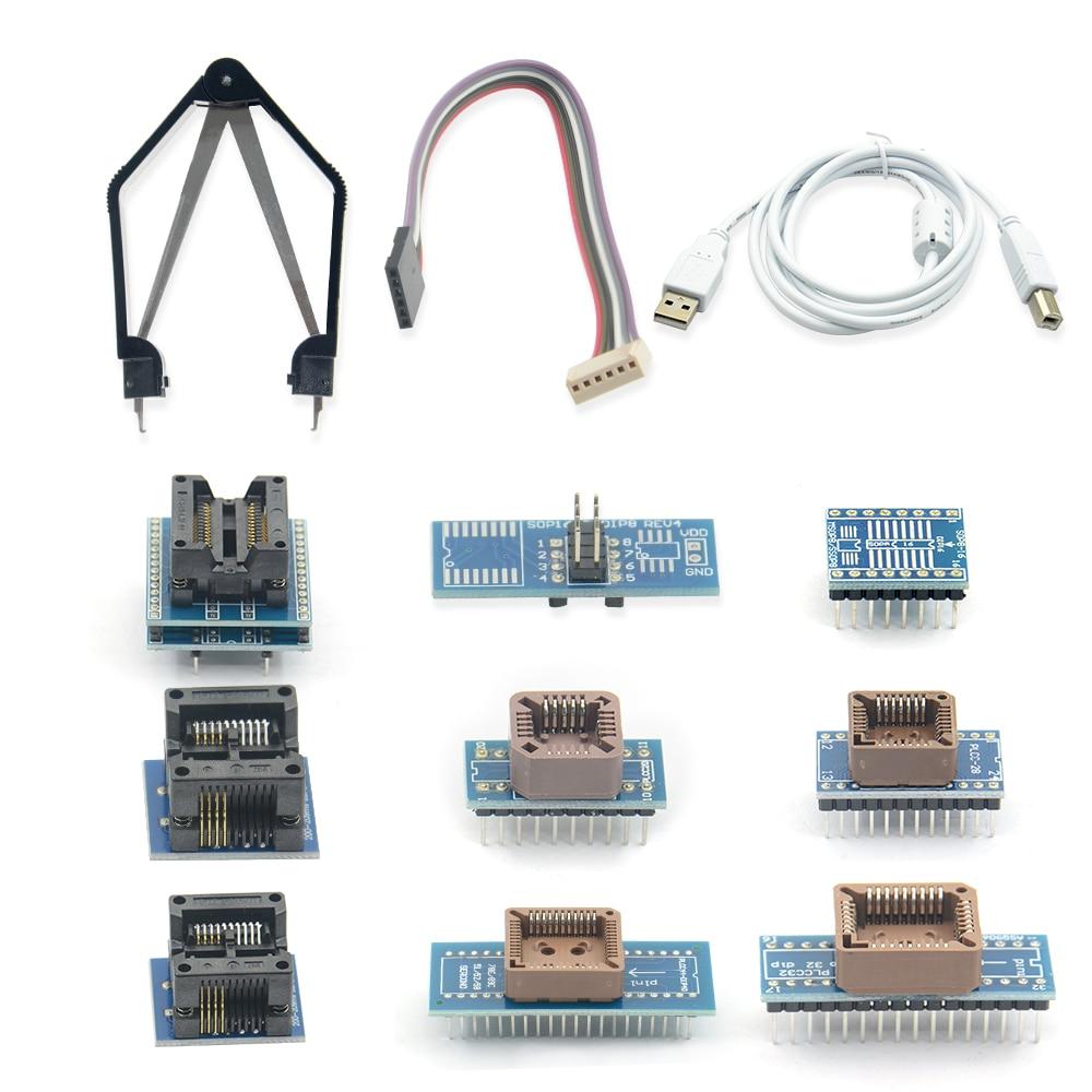 PROGRAMMATEUR UNIVERSEL MINIPRO TL866A + 10 adaptateurs pour circuit  intégré Maroc | Dsindustrie com